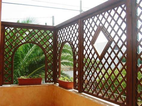 grigliati terrazzo grigliati legno grigliati e frangivento da giardino