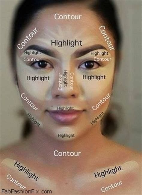 Makeover Tips by How To Highlight And Contour Your Face With Makeup Like A
