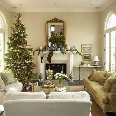 Living Room Decorating Ideas For 2014 Cl 225 Sicas Y Modernas Decoraciones De Navidad