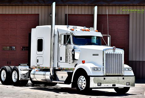 kenworth w900 price kenworth w900 fitzgerald glider kits