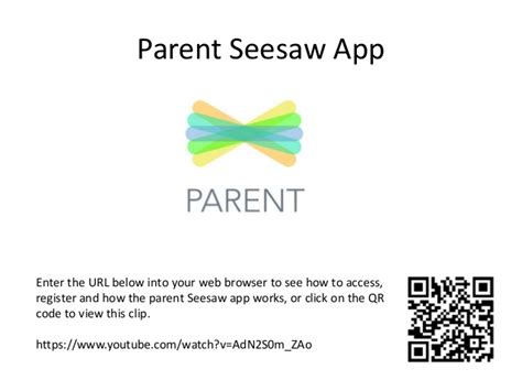 Parent Letter Seesaw Seesaw Parent Info Session For The Newletter