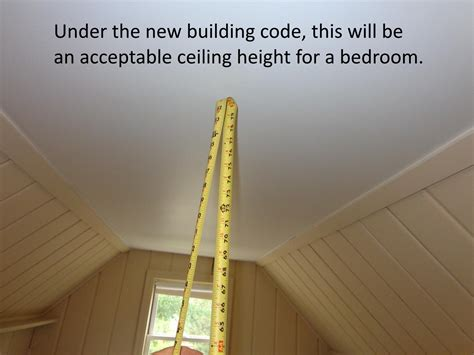 minimum ceiling height for bedroom homes msp real estate blog inspections