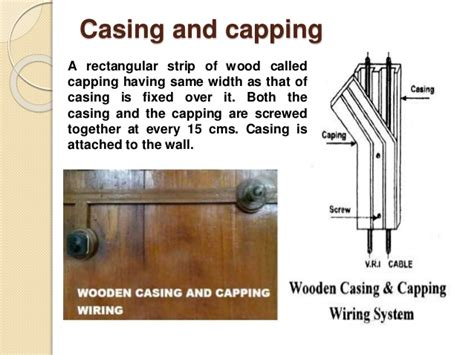 casing and capping wiring system unit 6