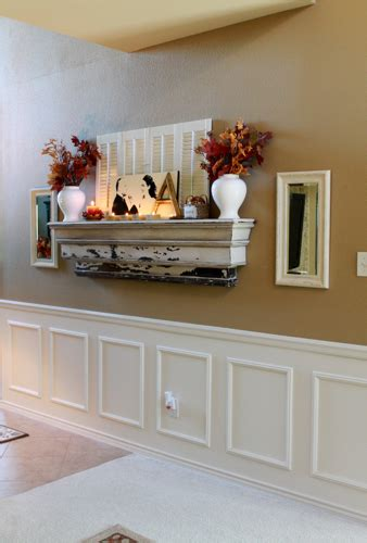 How To Display Without A Fireplace by Mantel Decorchick