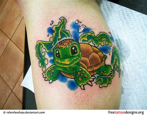cute turtle tattoos turtle tattoos