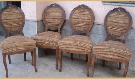 sedie antiche prezzi 4 sedie antiche in noce luigi filippo a medaglione da