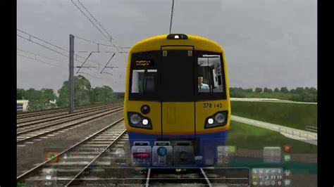 hendon thameslink train simulator 2017 uk class 378 capitalstar hendon