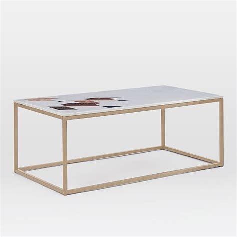marble coffee table indian marble coffee table west elm