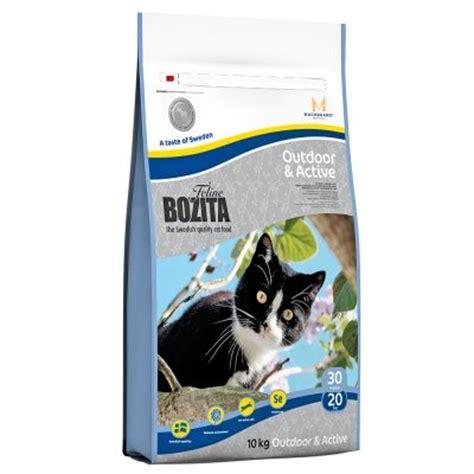 Bingo Cat 10kg bozita feline outdoor active croquettes pour chat zooplus