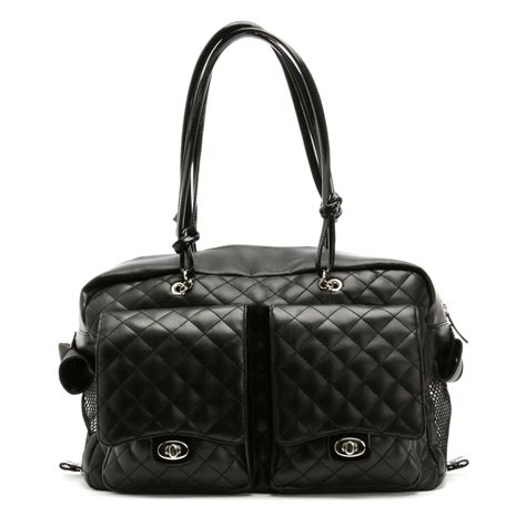 puppy carrier kwigy bo alex carrier black designer pet carriers at glamourmutt