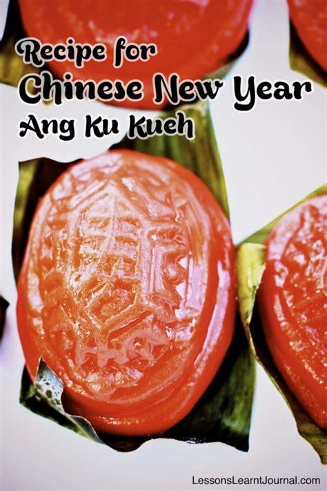 malaysia new year kueh recipe new year ang ku kueh