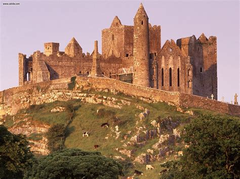 In Tipperary Ireland known places the rock of cashel county tipperary ireland desktop wallpaper nr