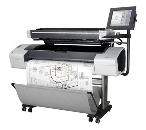 q6713a t1100 mfp hp 44 quot wide format designjet printer refurbished