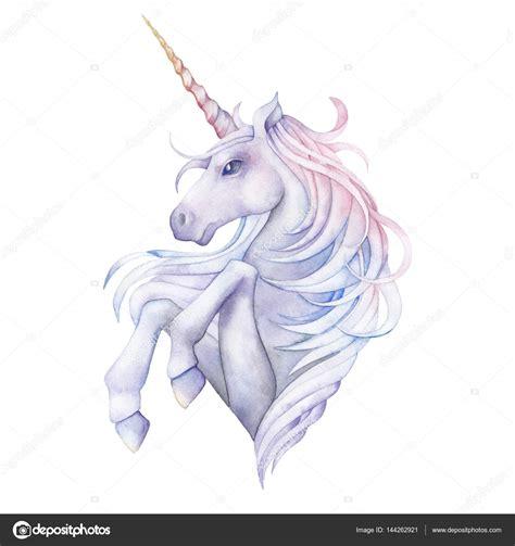 watercolor unicorn stock photo 169 homunkulus28 144262921