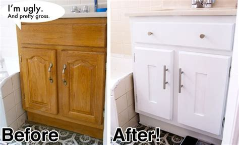 how do they reface kitchen cabinets the before looks like my bathroom cabinets and