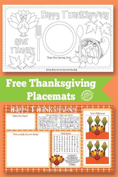 turkey dinner printable thanksgiving placemat free kids printable the o jays