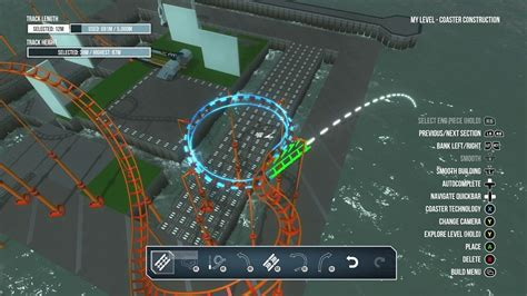 theme park xbox one screamride review build ride and break roller coasters