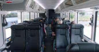 does megabus a bathroom featues and tour greyhound