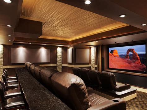 home design home theater cool blue home theater systems from cedia
