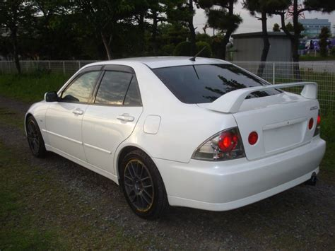 toyota altezza rs200 toyota altezza rs200 z edition 2001 used for sale