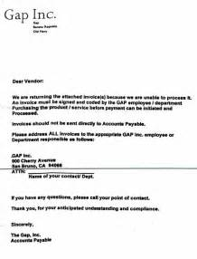 Invoice Received Letter Invoice Past Due Letters