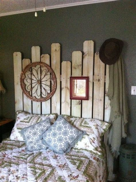 western headboards western headboard made from fence boards 11 diy