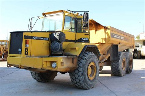 volvo a35 articulated dump truck adt year of