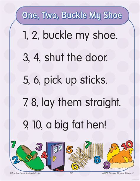 One Two Buckle Shoe Three Four Shut The Door by 35 Best Images About Early Years Unit 3 On