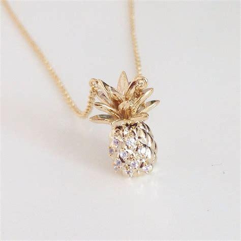 awesome pineapple necklace shopebbo