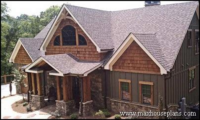 craftsman style lake house plans craftsman lake cottage custom home plans max fulbright designs