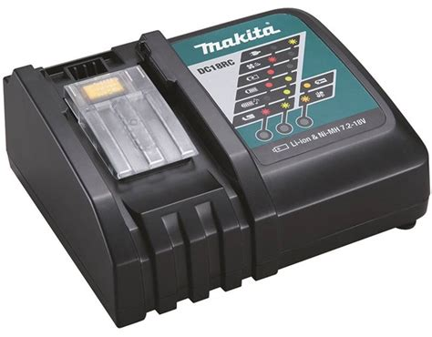 Bor Charger Makita makita dc18rc battery charger lithium ion 1 5 5 ah 15 22 36 45 min