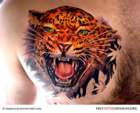 leopard design tattoo panther tattoos black panther designs