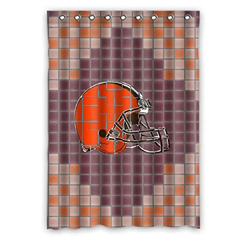 cleveland browns shower curtain cleveland browns valance browns valance browns valances
