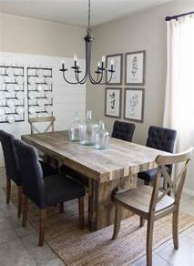 best 25 modern farmhouse table ideas on pinterest simple amp neutral fall farmhouse dining room