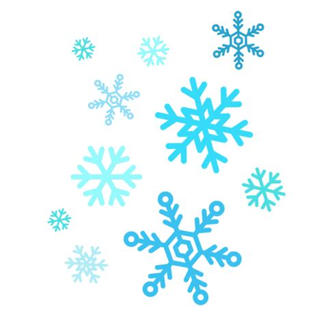 snow flake clip free falling snowflake graphic free library techflourish