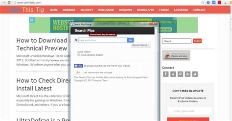 How To Search On Plus How To Search Across All Open Tabs In Chrome