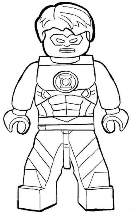 lego coloring book lego green lantern coloring pages coloring pages for