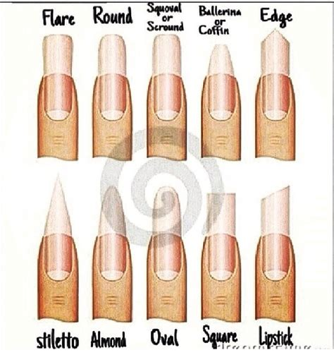 Different Types different nail types trusper