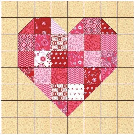 pattern for heart quilt the 25 best ideas about heart quilt pattern on pinterest