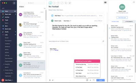 best email client mac best mac email clients of 2018 macworld uk