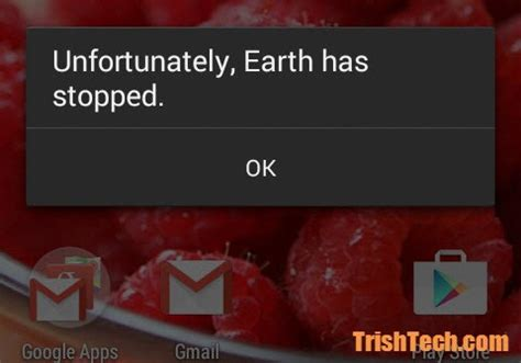 how to fix quot unfortunately app has stopped quot error in android