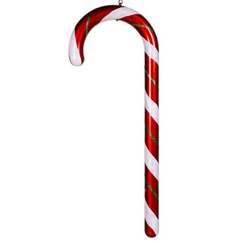 vickerman m110817 christmas candy cane 4 ft