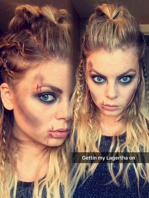 vikings hairstyles customes lagertha hair and makeup vikings halloween halloween