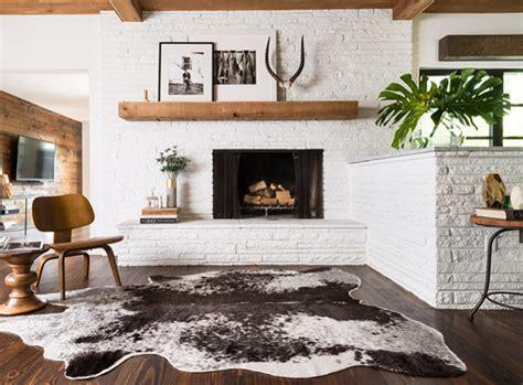get inspired the diy white brick fireplace glitter inc