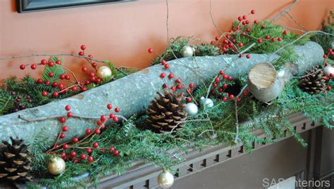 how to decorate your house for christmas with a log my