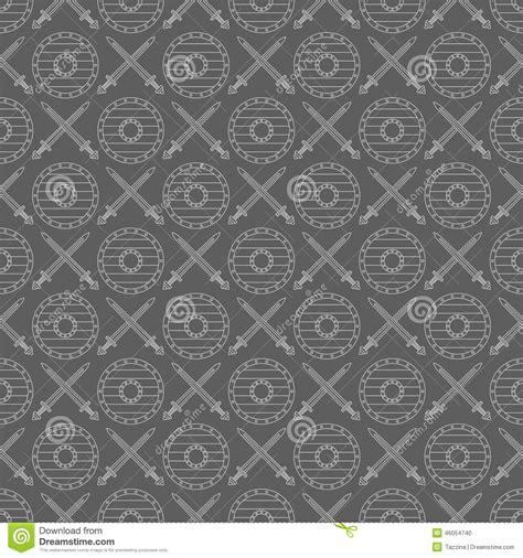 Viking Pattern Vector | seamless viking pattern 04 stock vector image 46054740