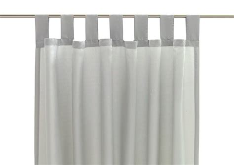 schlaufenschal schlaufe gardinen schal vorhang gardine - Schlaufengardinen Grau
