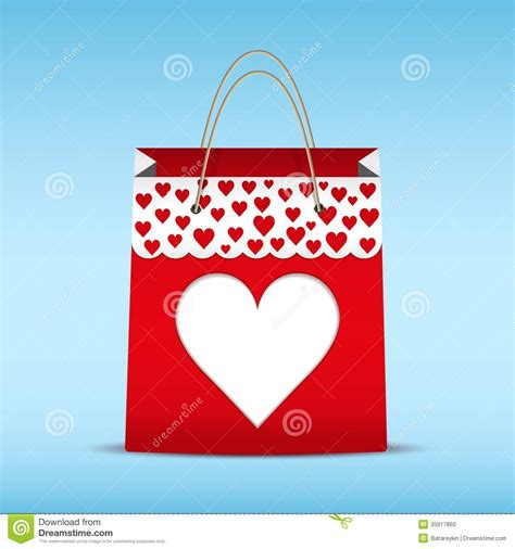 shopping for s day shopping bag for s day stock vector image
