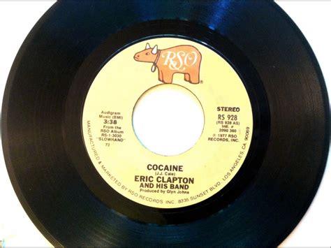 Eric Clapton Vinyl - cocaine eric clapton 1978 vinyl 45rpm