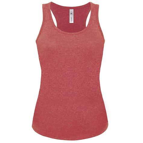Vest Top by New B C Womens Patti Deluxe Cotton Racerback Vest